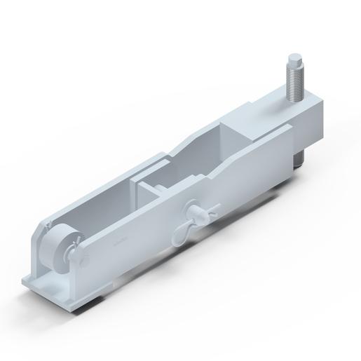 Latch For Shaft Platform Shaft Platform Crane Lifted