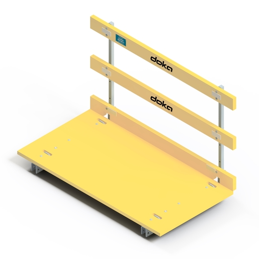 Passerelle de table Dokamatic 1,00/2,00m