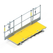 Xsafe plus platform with side railing