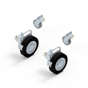 Attachable wheelset