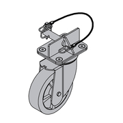Bolt-On Casters for Standard Packaging (2k lbs. Capacity)